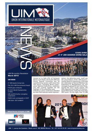 to download the Newsletter n° 22 - UIM