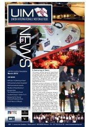 Newsletter 17 / 2012 - UIM