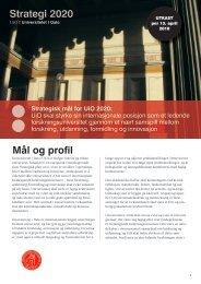 Last ned styreutkastet - Universitetet i Oslo