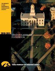 Student-AthleteHndbk.. - University of Iowa