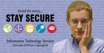 ITS Security Awareness Brochure