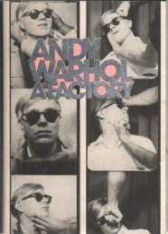 Andy Warhol, A Factory; a portable 'Artist's Life', 1997, concept and design by Gerard Hadders