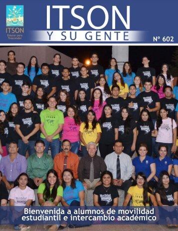 Bienvenida a alumnos de movilidad estudiantil e intercambio académico