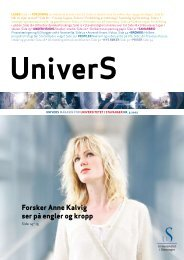 UniverS nr. 3 2007 (pdf, 2,27 mb)! - Universitetet i Stavanger