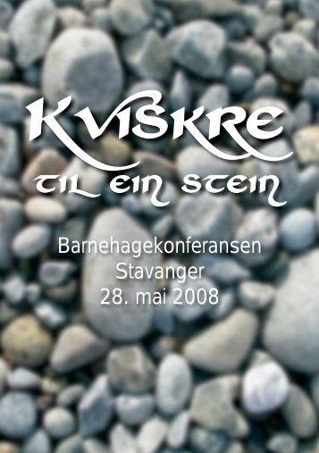 Klikk her for program - Universitetet i Stavanger