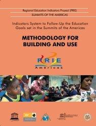 METHODOLOGY FOR BUILDING AND USE - Institut de statistique ...