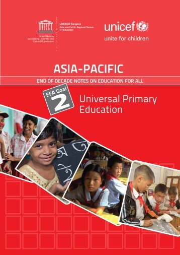 Universal primary education - Institut de statistique de l'Unesco