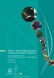 Trends in Global Higher Education - Institut de statistique de l'Unesco