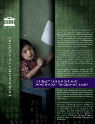 Literacy Assessment and Monitoring Programme (LAMP) - Local ...