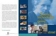Science, technologie et genre - Institut de statistique de l'Unesco