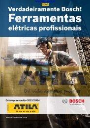 BOSCH FERRAMENTAS ELÉCTRICAS PROFISSIONAIS_Catalogo 2013/2014