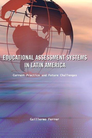 Educational assessment systems in Latin America - Institut de ...