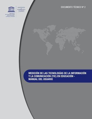 medición de las tecnologías de la información y la comunicación (tic)