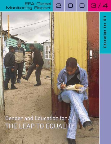 Gender and education for all - Institut de statistique de l'Unesco