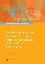 National Assessments of Educational Achievement