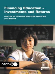 Financing Education – Investments and Returns - Institut de ...