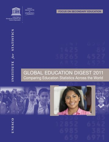 Global Education Digest 2011 - Institut de statistique de l'Unesco