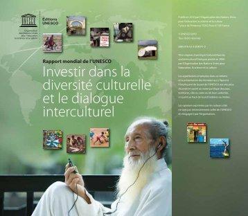 Investir dans la diversité culturelle et le dialogue interculturel ...