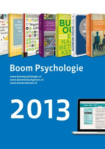 Boom Psychologie - Uitgeverij Boom