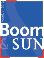Catalogus Uitgeverij Boom & SUN Voorjaar 2012