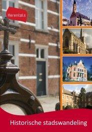 Historische stadswandeling - Vrije tijd Herentals