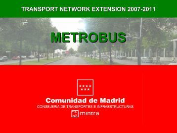 transport network extension 2007-2011