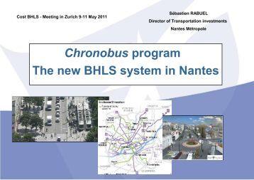 The CHRONOBUS concept