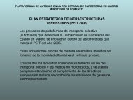 plataformas de transporte colectivo demarcación de carreteras del ...