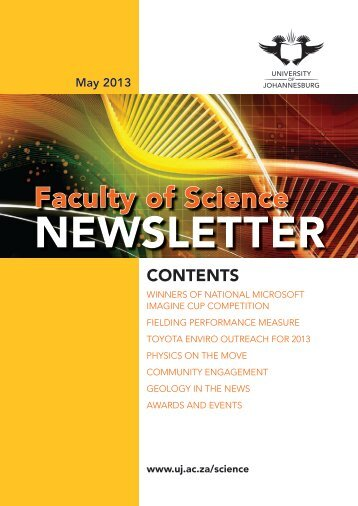Faculty of Science - University of Johannesburg