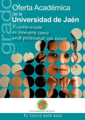 Oferta Académica - Universidad de Jaén