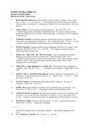 Ročenka - Ústav pro jazyk český