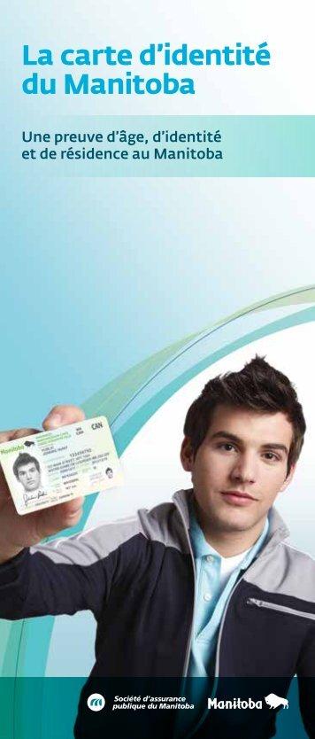 La carte d'identité du Manitoba - Manitoba Public Insurance
