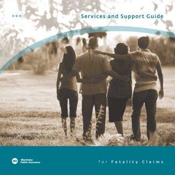 Fatality Claims Brochure - Manitoba Public Insurance