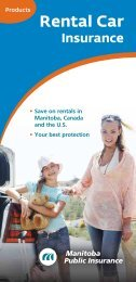 Rental Car - Manitoba Public Insurance