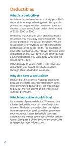 Deductibles - Manitoba Public Insurance - Page 2
