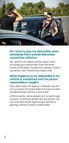 Deductibles - Manitoba Public Insurance - Page 6