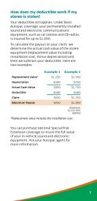 Deductibles - Manitoba Public Insurance - Page 7