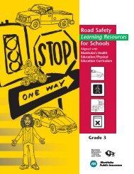 Road safety bingo - Manitoba Public Insurance