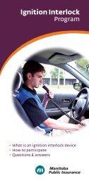 Ignition Interlock - Manitoba Public Insurance