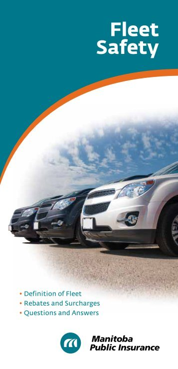 Fleet Safety - Manitoba Public Insurance