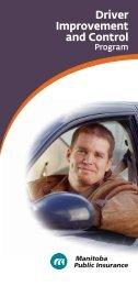Driver Improvement and Control - Manitoba Public Insurance