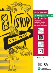 grade six road safety - Manitoba Public Insurance