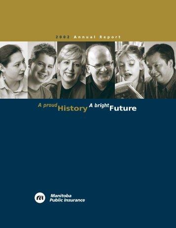 Manitoba Public Insurance 2002 Annual Report