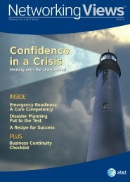 Confidence in a Crisis Confidence in a Crisis - Enterprise Business ...