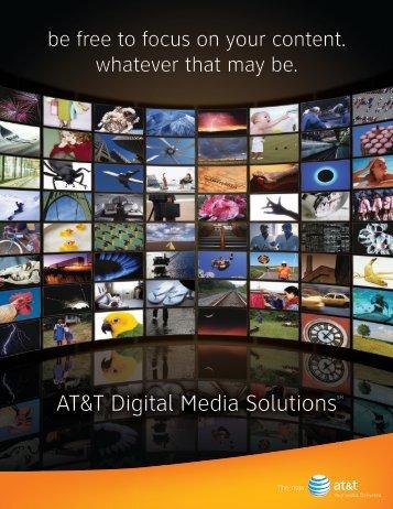 AT&T Digital Media SolutionsSM - Enterprise Business - AT&T