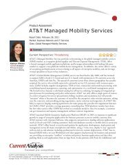 AT&T Managed Mobility Services - Enterprise Business - AT&T