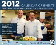 Download the 2012 JEC Seminar Calendar - Food Service ...