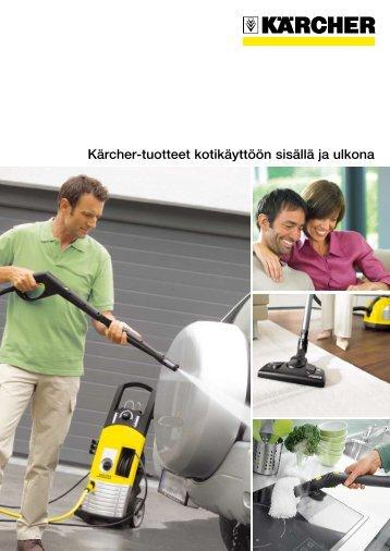 Kärcher-tuotteet kotikäyttöön sisällä ja ulkona
