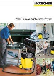 Veden- ja pölynimurit ammattikäyttöön - Kärcher