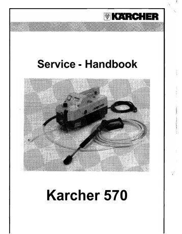 Karcher 570 - Ppe-pressure-washer-parts.com